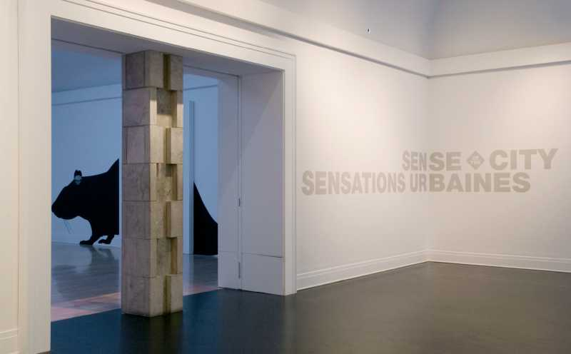 Centre Canadien d'Architecture - Sensations urbaines, exposition